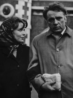 John Le Carré's uncompromising and bleak 1963 spy thriller 'The Spy Who Came In From The Cold' was made into a multi-BAFTA-winning feature film in 1965. The main character Alec Leamas was played by Richard Burton alongside Claire Bloom [pictured here]. The novel also introduced us to a minor character called George Smiley  who was to appear as the main character in later novels such as 'Tinker Tailor Soldier Spy' and 'Smiley's People'.
