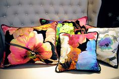 Fabulous cushions by Art De Vie featuring cloth from our Art & Soul, New England and Explore collections. Prestigious Textiles, Cushion Fabric, Upholstery, Bedrooms, Fabrics, England, Collections, Throw Pillows, Explore
