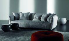 Scott is a comfy sofa from Italian brand Meridiani.
