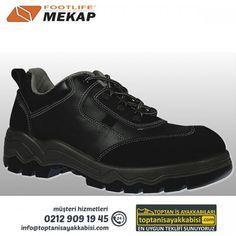 Mekap iş ayakkabısı 200 Panama Siyah
