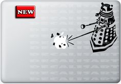 Doctor Who Decal  Dalek  Macbook Decal  Mac Decal  by DecalisArt, $9.95