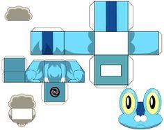 Resultado de imagem para papercraft pokemon