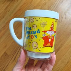 Excited to share this item from my #etsy shop: Vintage 1970s Mug, Spaghettios The Wizard of Os Thermo Mug VGC Usps Shipping, Etsy Shipping, Back To School Supplies, Huge Sale, Halloween Trick Or Treat, 4 H, Corn Syrup, Vintage Halloween, Growing Up
