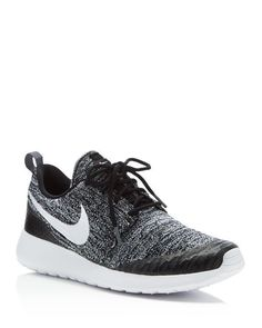 A knit textile design boosts breathability and style on Nike's performance-driven trainers. | Knit textile upper, textile lining, rubber sole | Imported | Round toe; lace up | Available in full and h