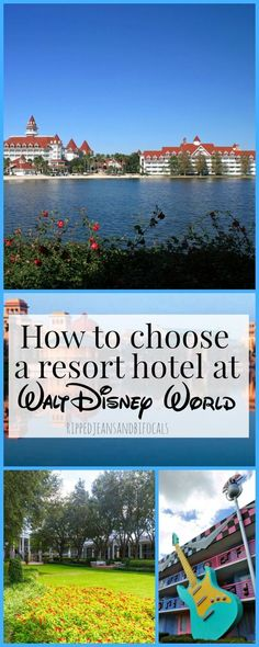 Are you wondering how to choose a resort hotel at Walt Disney World? Check out my post on the difference between the value, moderate and deluxe resorts at Walt Disney World|Ripped Jeans and Bifocals