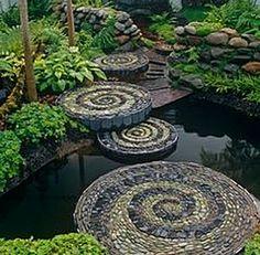 Spiral stones. :)