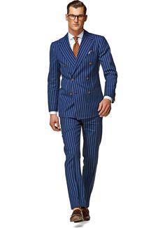 Suit Blue Stripe Madison P3828 | Suitsupply Online Store