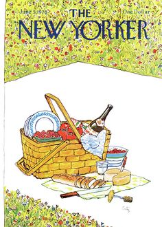 The New Yorker cover, June 1978 by Arthur Getz The New Yorker, New Yorker Covers, Wall Collage, Wall Art, Magazine Art, Magazine Covers, Vintage Posters, Vintage Photos, Vintage Magazines
