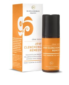 Hope Gillerman Jaw Clenching Remedy   Facial pain, tooth pain, headaches, and even earaches can result from teeth clenching or grinding. Use this deeply grounding, sweet, earthy blend to help both facial muscles and emotions relax.