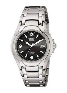 83ee5efc3864 Citizen Men s Eco-Drive Titanium WR100 Watch Review Titanium Watches