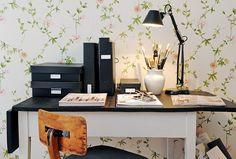 Blog de decoração Perfeita Ordem: Cantinhos para trabalhar em casa