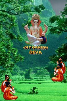 Ganesh Ji Images, Ganesh Idol, Lord Shiva Hd Wallpaper, Shree Ganesh, Choppy Bob Hairstyles, Lord Ganesha, Happy Tuesday, Gods And Goddesses, Pop Culture