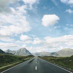 The road to Glencoe on the way to Skye  by danrubin