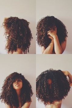 If I had curls like hers. I would be happy forever! <3 Her hair is the definition of Gorgeous!
