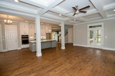 Cooper Homes   Interior   Craftsman   Atlanta Builder   Open Concept Family Room   To see  available homes visit our Current Projects page on our website