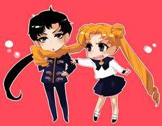 Sailor Moon / Seiya and Usagi