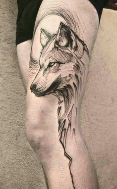 33c27be299920 154 Best Wolf Tattoos images in 2019 | Wolf tattoos, Tatoos, Tattoo ...