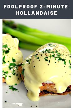 Quick Immersion Blender Hollandaise A 30 Second Hollandaise Sauce made quick and creamy with your immersion blender --- no cutting corners here, this is the authentic stuff! Easy Hollandaise Sauce, Blender Hollandaise, Egg Recipes, Brunch Recipes, Cooking Recipes, Jelly Recipes, Recipies, Breakfast Dishes, Breakfast Recipes