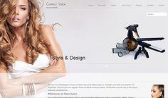 Design z.B. für: Coiffeur Salon, Beauty Salon, Wellness & SPA, Massage Praxis... Web Design, Wellness Spa, Massage, Fashion Design, Shopping, Beauty, Style, Swag, Design Web