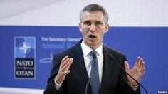 Генсек НАТО обвинил Россию в стягивании военных к границе с Украиной