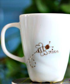 Hi Sugarplum | Valentine Sharpie Mug