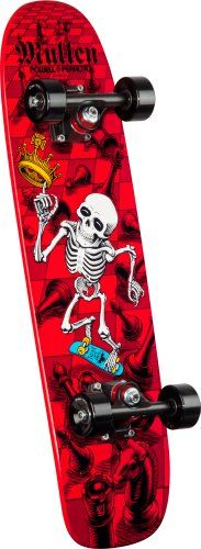 PowellPeralta Bones Brigade Rodney Mullen Chess Assembly Skateboard Red ** Check out the image by visiting the link. (This is an affiliate link) #Skateboards