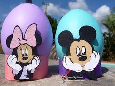 Mickey & Minnie Egg Holders