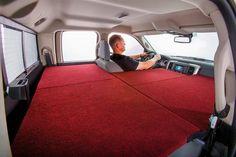 Sleep Comfortably In Your SUV Or Truck With This Kickstarter Success - Fahrzeuge - Rv Mods, Truck Mods, Suv Trucks, Pickup Trucks, Jeep Pickup, Chevy Trucks, Nissan Navara, Navara D40, Truck Bed Date