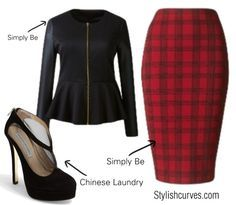 PLUS SIZE OUTFIT IDEAS: HOW TO WEAR THE PLAID TREND   best stuff