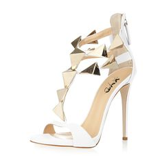 9555b60bb1 XYD Party Stilettos Pumps Cute T-Strap Heels Open Toe Dress Shoes Summer  Gladiator Sandals Women >>> Thanks for having visited our picture.