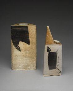 Sam Taylor, Three Sided Vase & Ewer