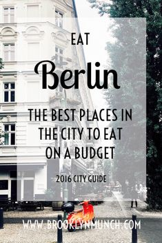 Berlin is packed with affordable and amazing food and drink. Here's your city guide of the best places for a budget.