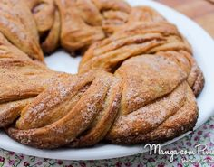 Pão Trançado de Canela - o famoso Cinnamon