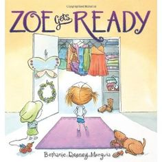 Zoe Gets Ready by Bethanie Murguia.... Each day is full of possibilities. Zoe wants to be ready for everything. But that makes getting dressed really hard! If it's a twirling day, she'll need to wear the purple skirt. If it's a cartwheeling day, she'll want the polka-dot tights. As the clothes pile up & Mama tells her it's time to go, there's only one way Zoe can be prepared for all the adventures ahead -- a solution that will have parents laughing in recognition & kids nodding in…
