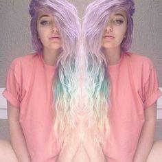 pastel hair ♡