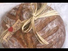 Mi.Lu.Jem - Recept na najlepší kváskový chlieb na svete - YouTube Ale, Bakery, Bread, Youtube, Ale Beer, Bakery Shops, Breads, Bakeries, Youtubers