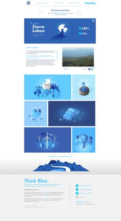 Unique Web Design, Volkswagen #webdesign #design