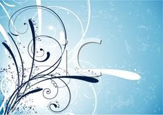 Royalty Free Clipart Image of a Frost Background