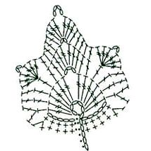 Crochet Instructions, Crochet Diagram, Crochet Chart, Thread Crochet, Crochet Stitches, Diy Crochet, Appliques Au Crochet, Crochet Leaf Patterns, Crochet Leaves