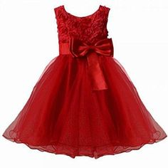 New 2015 Flower Girl Christening Wedding Party Pageant Dress Baby First Communion Dresses Toddler Gowns Child Bridesmaid Dress Baby Girl Dresses, Baby Dress, Girl Outfits, Kids Bridesmaid Dress, 3d Rose, First Communion Dresses, Girl Christening, Cute Outfits For Kids, Toddler Dress