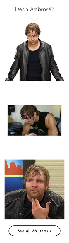 """Dean Ambrose🌓"" by dreamyanxns on Polyvore featuring superstars, wwe, dean ambrose, people, home, home decor, wwe stars and the shield"