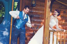 "Funny Wedding Photo Getting ""Branded"" Rachel Resch Photography"