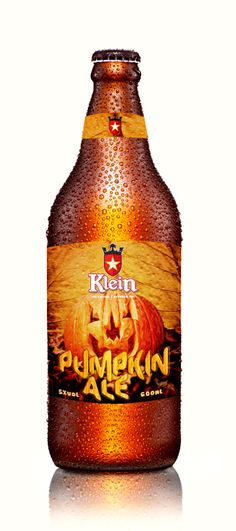 Klein Pumpkin Ale. Cervejaria Klein (Campo Largo-PR).