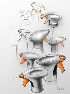Sketchbook by Rotimi Solola, via Behance