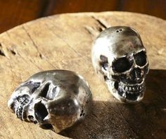 Add a Spooky Feel to Your Table with the Skull Salt and Pepper Jars trendhunter.com