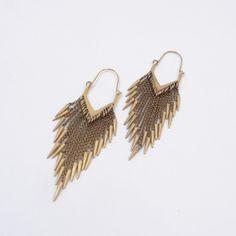 A Peace Treaty chandelier earrings