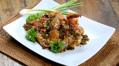 Stir Fried Prawns with Tau Si and Chili  Get this quick and easy seafood recipe by Ann Lian from Family Kitchen with Sherson.