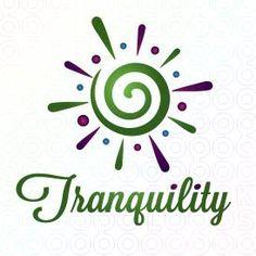 Exclusive Customizable Feminine Sun Logo For Sale: Tranquility | StockLogos.com