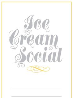 Throw an ice cream social party with ideas from Cooking Channel on setting up a sundae bar reminiscent of an old-fashioned ice cream parlor. Bacon Ice Cream, Ice Cream Flavors, Ice Cream Recipes, Ice Cream Art, Ice Cream Parlor, Old Fashioned Ice Cream, Social Themes, Sundae Bar, Ice Cream Social