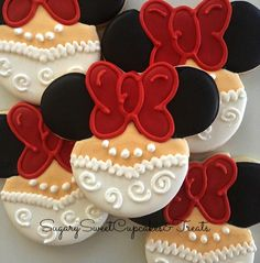 Wedding Mickey and Minnie cookies 12cookies by SugarySweetCookies